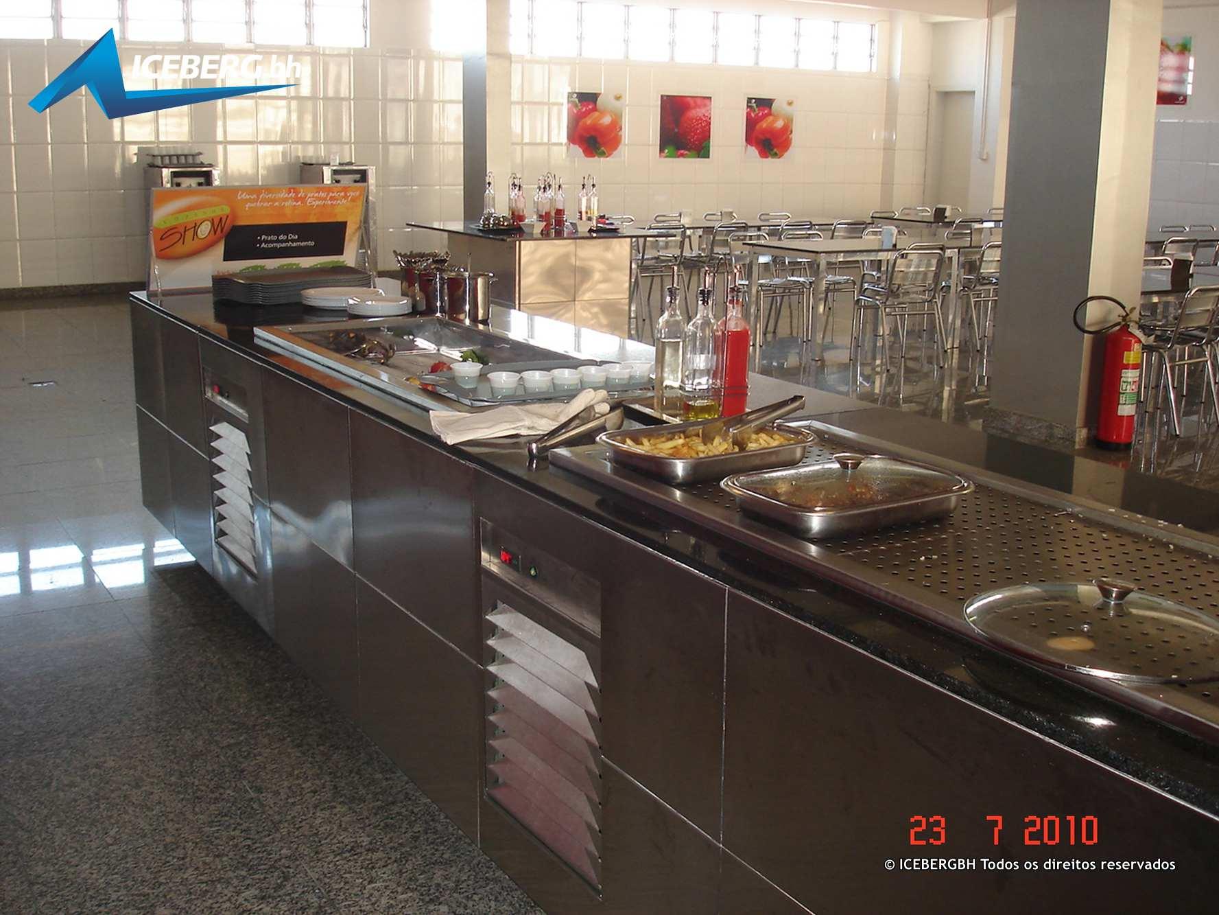 Icebergbh Montagens Cozinhas E Refeit Rios Industriais